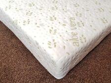 90 x 200cm x 15cm  BUNK BED REFLEX FOAM MATTRESS WITH ZIP QUIETED ALOE VERA