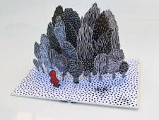 Le petit chaperon rouge-Carte Pop Up - Pop Up Card - Carte 3 D - Livre d'artiste