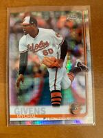 2019 Topps Chrome Prism Refractor #49 Mychal Givens Baltimore Orioles
