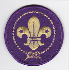 SCOUTS OF CHINA (TAIWAN) - WORLD SCOUT MEMBERSHIP OFFICIAL (GOLDEN) BLAZER PATCH