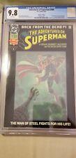 Adventures of Superman 500 CGC 9.8 1280201001 6/93 Collector's Ed original owner