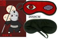 Anime NARUTO Akatsuki TOBI OBITO UCHIHA  Rinnegan SHARINGAN Sleeping Eye Mask