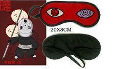 Anime NARUTO Akatsuki TOBI OBITO UCHIHA  Rinnegan SHARINGAN Sleeping Eye Mask