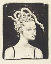 WOLFGANG PEUKER - MEDUSA - Lithografie 1995
