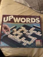 Vintage Upwords 3-Dimensional Word Board Game Milton Bradley 1988-USED GOOD!