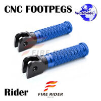 POLE Front CNC Footpegs Footrests For Ducati 1199 Panigale S/R/ABS 12-16 13 14