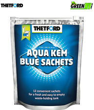 Thetford Aqua Kem Blue Satchels Portable Caravan Toilet Waste Tank Chemical