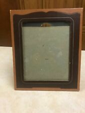 """Vintage Picture Frame for Picture 8"""" x 10"""" approximately-Glass Included"""