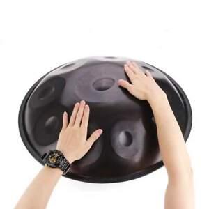 10 Notes D Light Hand Disc Handpan Drum Percussion Good Sound + Bag