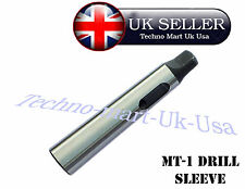 Cono Morse Adaptador MT1 a MT2 Adaptador Taladro Manga Para Torno reducir mil @ UK