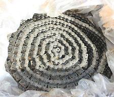 "Diamond Chain Company 80-3 Triple Strand Roller Chain Conveyor 1"" pitch 5/8 18m"