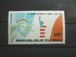 Mali 1 Marke ** aus 1986 Michelwert 7,00 Euro 100 Jahre Freiheitsstatue