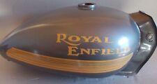Royal Enfield Bullet Fuel Tank # 597006 Athena Gray 1950-2007