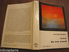 Slan Fantascienza Libra Editrice 45 S.O.S. da tre mondi SOS Murray Leinster 1979