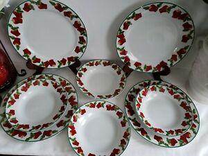 KMC - 8 Piece Dining Set in Apple Pattern