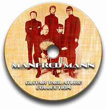 MANFRED MANN ROCK GUITAR TAB TABLATURE SONG BOOK SOFTWARE CD