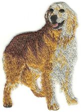"2 1/4"" x 3"" Standing Golden Retriever Dog Breed Embroidery Patch"