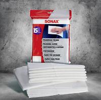 SONAX PolierVlies Tücher 15 Stück Poliertuch 422200