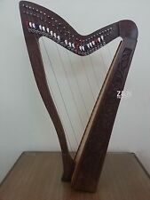 27 String Harp with Levers & Extra Strings, Carry Soft Bag & Tuning Key
