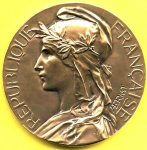 MARIANNE ¤ TOULOUSE (Haute-Garonne) ¤ Médaille par Adolphe Rivet