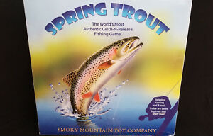 Spring Trout: The World's Most Authentic Catch-N-Release Fishing Game: Very Rare