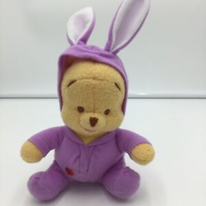 Fisher Price Winnie The Pooh My First Springtime Purple Plush Soft Toy Bunny