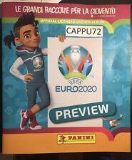 ALBUM VUOTO EURO 2020 PREVIEW PANINI 2020