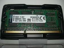 2gb Kingston/Elpida pour DIMM kvr1066d3s8s7/2g ddr3-1066, cl7 pc3-8500