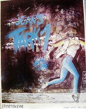 10 Tark'1 Vintage Exclusive Original 80's High Fashion French Posters