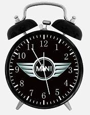 "Mini Alarm Desk Clock 3.75"" Home or Office Decor W454 Nice For Gift"
