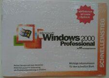 Microsoft, Windows 2000 Professional, Installations-CD, Product key, Starthilfe