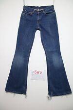 Levis 544 Flare bootcut (Cod.J583) Tg.42 W28 L34  jeans usato vintage.