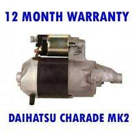 Daihatsu Charade MK2 Mk II 1.0 1983 1984 1985-1987 Motor de Arranque