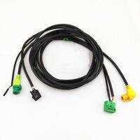0EM Car Play MDI USB AUX Switch Control AMI Adapter Plug Harness For VW Golf MK7