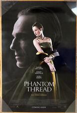 PHANTOM THREAD MOVIE POSTER 2 Sided ORIGINAL INTL FINAL 27x40 DANIEL DAY-LEWIS