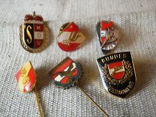 6 diverse Abzeichen/Mitgliedsabzeichen