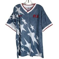 New ListingVintage World Cup Adidas 1994 Usa All Over Print T Shirt Tee Large Soccer Jersey