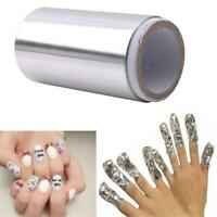 New Acrylic Nail Art Soak Off Remover Polish Removal Foil UV Gell Foil Wrap L