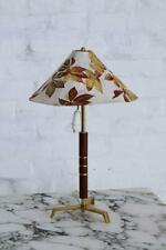 Rare Midcentury Tripod Table Lamp Attributed to J. T. Kalmar, Austria, 1950