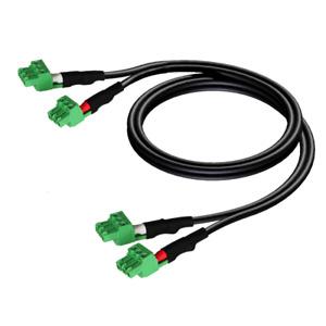 Procab 2 x 3-pin Terminal Block to 2 x 3-pin Terminal Block Cable - 3m