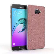 Schutz Hülle für Samsung Galaxy A5 (2016) Glitzer Cover Handy Case Rosa