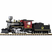 PIKO C&S Mogul Steam Locomotive No.2 (DCC-Sound/Smoke) G Gauge 38224
