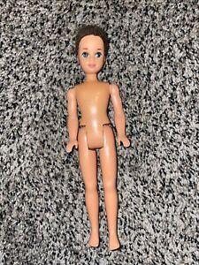 Vintage Barbie LITTLE BROTHER TODD Doll - Flocked Hair 1990 Mattel