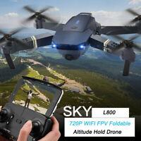 2.4G 4CH 6-Axis Gyro 720P WIFI FPV Foldable Arm Selfie Drone Quadcopter w/ High