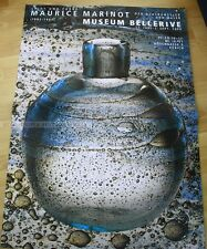 SWISS EXHIBITION XXL POSTER 1990 - MAURICE MARINOT - LIGHT AND COLOR - BELLERIVE