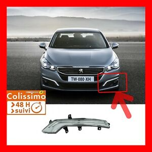 ‼️FEU LED DIURNE Clignotant NEUF NEW/RUNNING LIGHTS /CONDUCTEUR Peugeot 508‼️