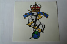 "2 X   REME   STICKERS  4"" BRITISH ARMY USA  BADGES MILITARY INSIGNIA"