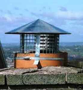 chimney cowls bird guard galvanized steel rain house flue roof bird guard