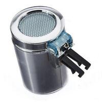 Portable Vehicle Air Vent Auto LED Light Cigarette  Ashtray (Silver) L6O0