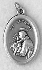 ST ANTHONY ST FRANCIS ASSISI doible sided Catholic Patron Saint Medal